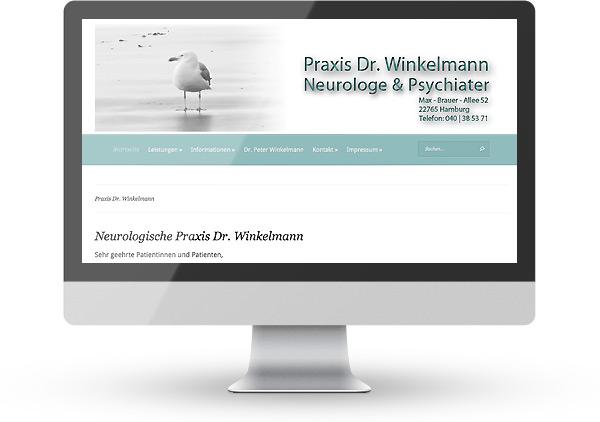 WordPress Praxis Dr. Winkelmann